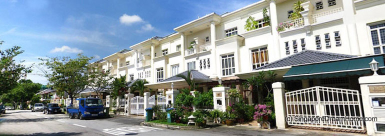 Singapore dream home greenwood avenue landed terrace house for Terrace house singapore